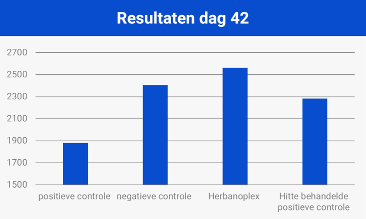 Resultaten dag 42